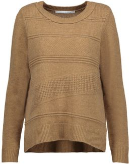 New Kingston Waffle-knit Wool And Cashmere-blend Sweater