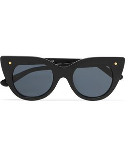 Nefertiti Cat-eye Acetate Sunglasses