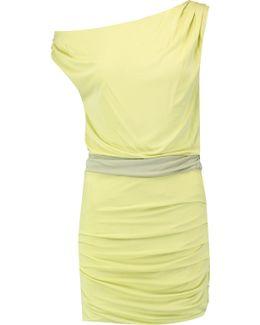 Off-the-shoulder Stretch-jersey Mini Dress