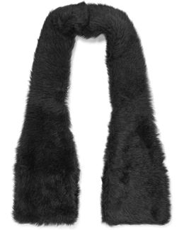 Shearling Scarf