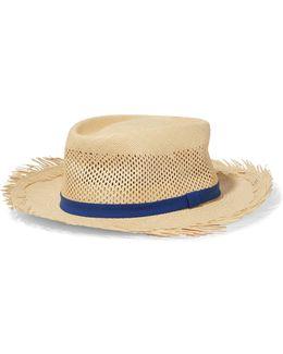 Dunmont Calado Toquilla Straw Panama Hat