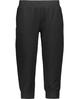 Cropped Stretch-jersey Pants