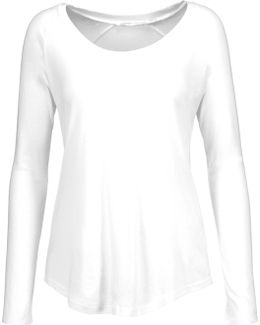 Cotton-blend Jersey Top