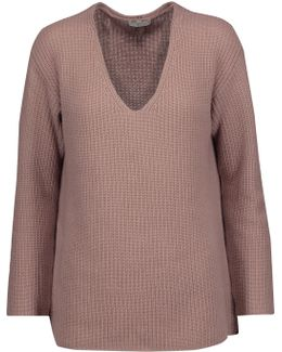 Wei Ribbed Wool And Cashmere-blend Sweater