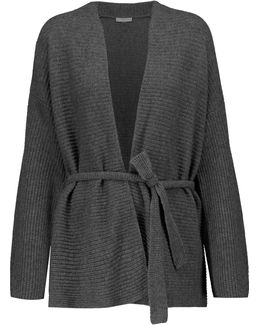 Roshni Belted Wool And Cashmere-blend Cardigan