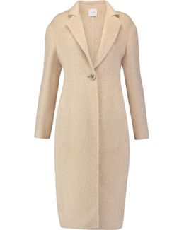 Couture Alpaca And Wool-blend Coat