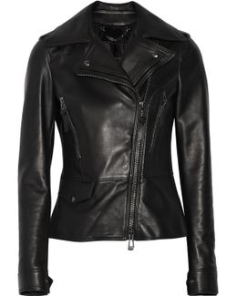 Carly Leather Biker Jacket