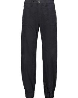 Tavi Cotton-twill Tapered Pants