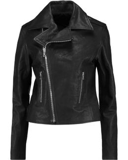 Nico Leather Biker Jacket
