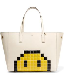 Ebury Embossed Textured-leather Tote
