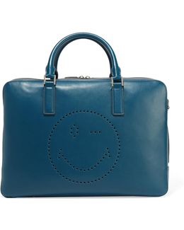 Walton Perforated Leather Tote