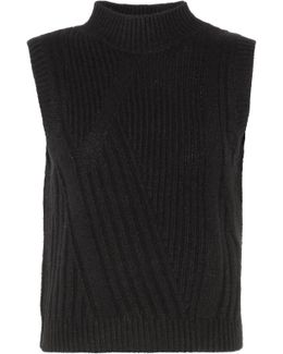 Ediva Ribbed Wool And Cashmere-blend Sweater