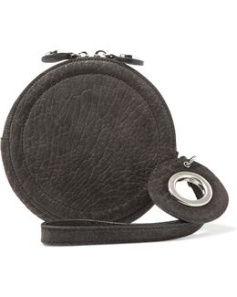 Textured-suede Wallet