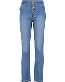 Monroe High-rise Straight-leg Jeans