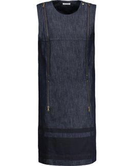Embellished Denim Dress