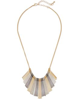 Gold-tone And Silver-tone Necklace