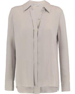 Silk-crepe Shirt