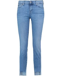 Mid Rise Roxanne Crop Skinny Jeans