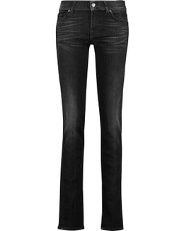 Roxanne Mid-rise Slim-leg Jeans