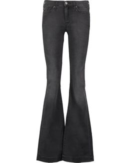 Charlize Mid-rise Flared Pants