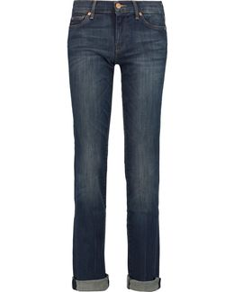 Low-rise Straight-leg Jeans