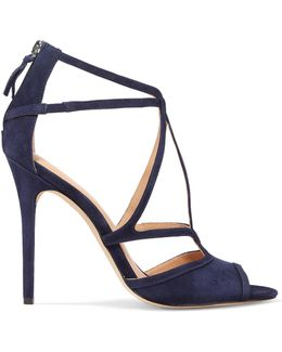 Monica Suede Sandals