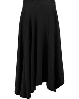 Asymmetric Twill Skirt