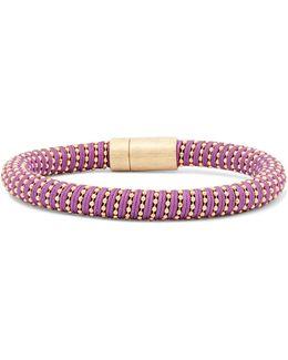 Gold-tone Woven Bracelet