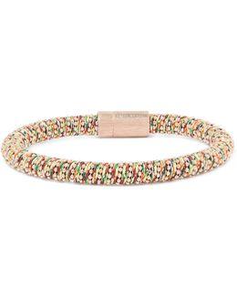 Rose Gold-tone Woven Bracelet