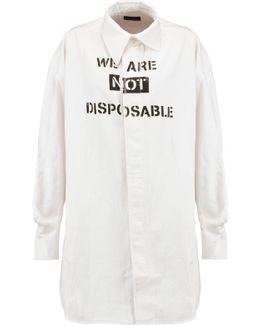 Lottie Printed Denim Shirt