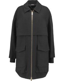 Oversized Wool-twill Coat