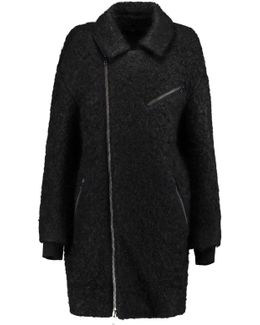 Wool And Mohair-blend Coat
