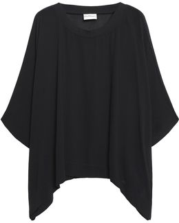 Draped Georgette Top