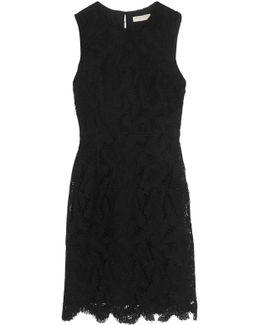 Cotton-blend Macramé Lace Dress