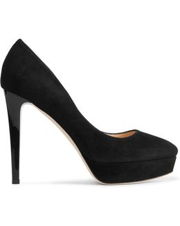 Alex Suede Platform Pumps