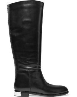 Kip Leather Knee Boots