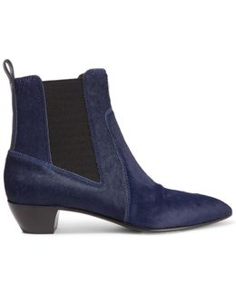 Lou Calf Hair Ankle Boots