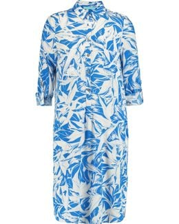 Lois Printed Crepe Coverup