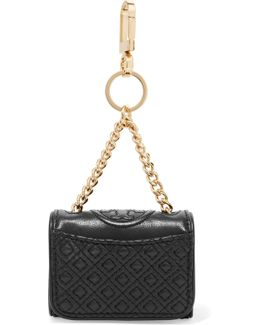 Fleming Quilted Leather Keyring