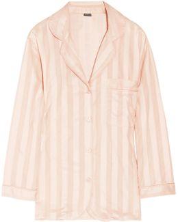 Striped Cotton Pajama Top