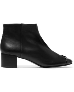 Jolie Leather Ankle Boots