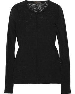 Slub Wool Sweater