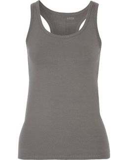 Maria Stretch Cotton-blend Tank