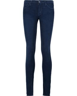 The Looker Cotton-blend Corduroy Skinny Pants
