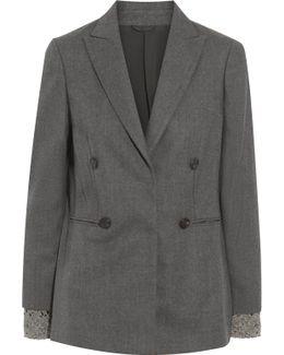 Embellished Woven Jacket