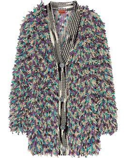 Cashmere-blend Bouclé Coat