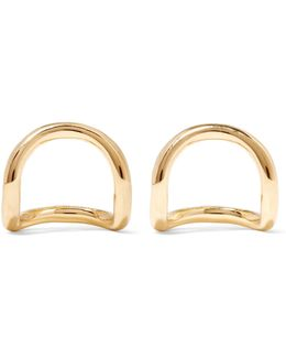 Moore Gold-plated Earrings