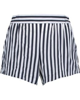 Striped Voile Shorts
