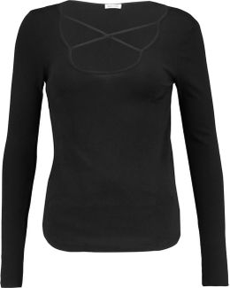 Stretch Supima Cotton And Micro Modal-blend Top