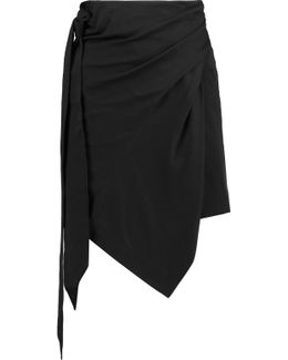 Sharyl Cotton-jersey Mini Skirt